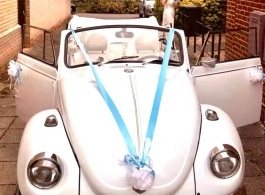 VW Beetle wedding car in Brentwood